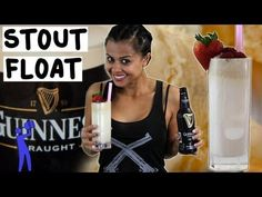 Guinness Float. Want a little more bubble, add Root Beer Soda.
