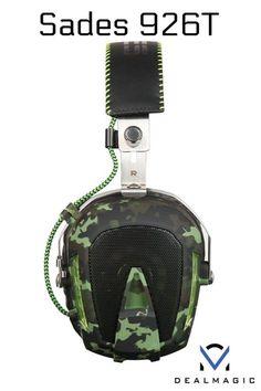Sades Gaming Headphones Headset with 2 audiojack converter. Gaming Headphones, Sling Backpack, Headset, Backpacks, Bags, Headphones, Handbags, Headpieces, Hockey Helmet