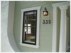 1000 images about my craftsman home on pinterest for Bungalow house numbers