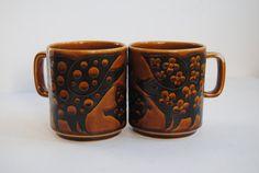 Hornsea Pig Mugs by hunterdear, $20.00