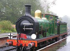 C-class at Kingscote - 9 Oct 2007 - John Sandys C Class, Steam Engine, Steam Locomotive, Great Britain, Engineering, Ghosts, Vehicles, Trains, Car