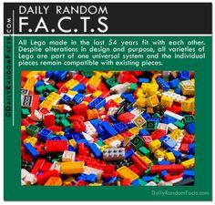 Daily Random Facts- Lego fact
