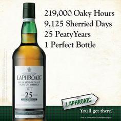 Laphroaig: Perfection takes time, but ...