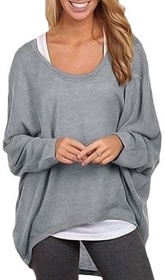 M/&S/&W Womens Knit No-Buttons Batwing Sleeve Drape Loose Cardigan Sweaters