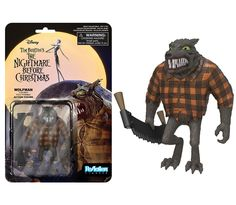 ReAction Figures: The Nightmare Before Christmas - Wolfman | Funko