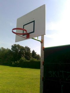 Durable and shatterproof plastic boards - perfect for basketball hoop backboards!
