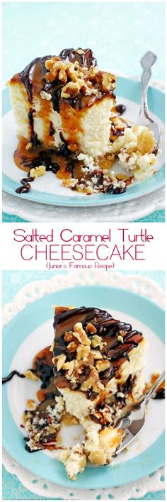 Make Junior's Famous Cheesecake at home! The BEST cheesecake on Earth!