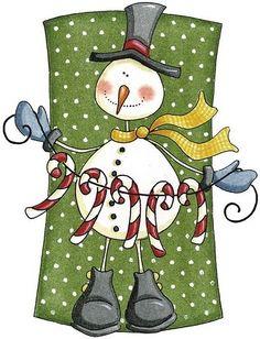 Cute snowman printable