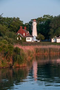 Port Sanilac# Lighthouse - Port Sanilac, #Michigan by Tway Photography    http://dennisharper.lnf.com/