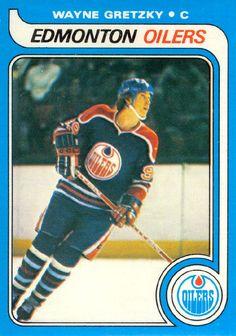 Wayne Gretzky 1979-80 O-Pee-Chee rookie card.