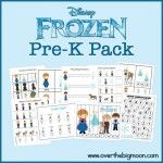 Loads of FREE pre-K printable packs (Tangled, Frozen Toy Story, Dinos, Pirates, Birthday, Winter Wonderland, etc...)