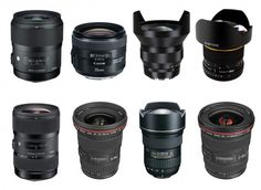 Looking for recommended wide-angle lenses for Canon DSLRs ? A wide-angle lens is a lens whose focal length is smaller than the focal length of a standard le