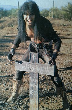 Blackie Lawless of W.A.S.P.   #BlindInTexas   #BlackieLawless #wasp 80s Rock, Ozzy Osbourne, Rockn Roll, Iron Maiden, Wasp, Good Old, Hard Rock, Rock Bands, Heavy Metal