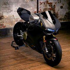 Ducati Panigale mat black