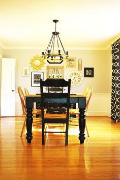 dining room makeover AFTER - BrassyApple.com #pyrahplantation