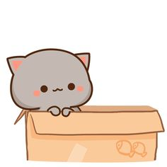 The perfect Kitty Kitten Love Animated GIF for your conversation. Discover and Share the best GIFs on Tenor. Cute Kawaii Animals, Kawaii Cat, Kawaii Chibi, Cute Chibi, Kawaii Anime, Anime Cat, Cute Love Gif, Cute Cat Gif, Cute Animal Drawings