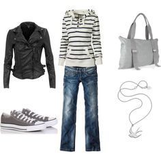 Love the stripes and shoes  #style #fashion