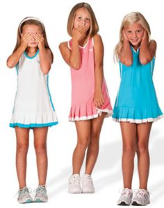 Lovely little outfits! My Tennis Kit - Tennis clothing for girls and boys aged 4 to 13 Cool Girl Outfits, Sport Outfits, Tennis Fashion, Kids Fashion, Tennis Shop, Little Girl Models, Tennis Clothes, Cute Girls, Boys
