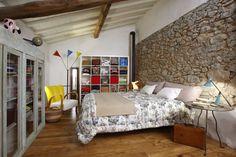 Ferienhaus Toskana Camaiore Ref. 93914-9 Ferienhaus für 2 Personen mit Blick auf das Meer - Schlafzimmer mit Doppelbett