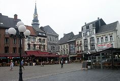 Hasselt, Belgium...so much fun...waffles, frites, and chocolate :)