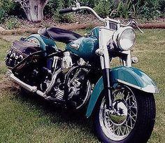1949 Harley-Davidson Panhead-when I met my husband he had one. Unfortunately it was stolen.