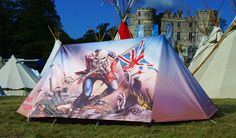 Iron Maiden 'The Trooper' Tent