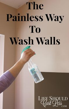 The Painless Way to Wash Walls by Life Should Cost Less