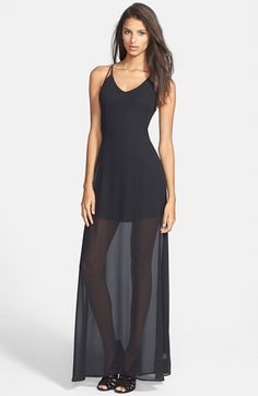 ASTR Strappy Maxi Dress | Nordstrom