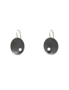 Dish earrings - e.g.etal