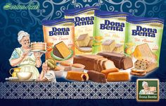 Dona Benta cake mix, bring the old world charm to your oven. Find it at your nearest Seabra Foods.
