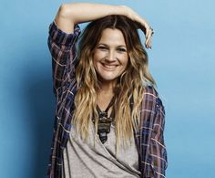 Ombre hair from the girl I feel started it all, Drew Barrymore!