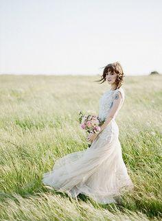 Anas White Story Dress