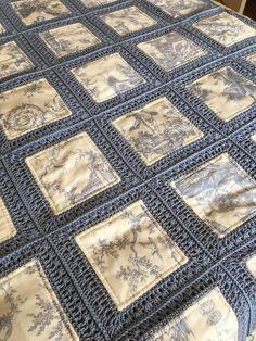Este artículo no está disponible - Örme Battaniye,örtü - Patchwork Fusion Crochet Quilt Stunning For Sale Crochet Bedspread Pattern, Crochet Fabric, Crochet Pillow, Crochet Blanket Patterns, Crochet Doilies, Quilt Patterns, Stitch Patterns, Easy Patterns, Rag Quilt