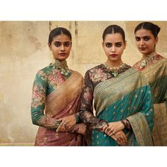 Sabyasachi Mukherjee has freshly launched Summer Collection for Ladies. Sabyasachi Mukherjee is a brand of comfortable, Trendy and affordable casual wear Sabyasachi Collection, Saree Collection, Jewelry Collection, Saree Blouse Patterns, Saree Blouse Designs, Sabyasachi Sarees, Indian Sarees, Sabyasachi Bride, Pakistani