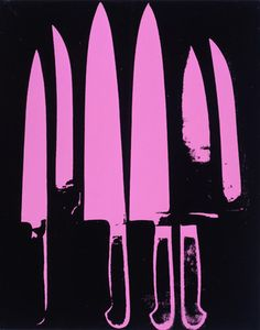 Andy Warhol (American, 1928-1987)    Knives, 1981     20 x 16 in. (50.8 x 40.6 cm.)    The Andy Warhol Museum, Pittsburgh; Founding Collection, Contribution The Andy Warhol Foundation for the Visual Arts, Inc.    © The Andy Warhol Foundation for the Visual Arts, Inc.    1998.1.267