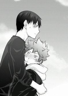 Haikyuu Kageyama, Manga Haikyuu, Hinata Shouyou, Haikyuu Funny, Haikyuu Fanart, Couple Anime Manga, Manga Anime, Comic Anime, Girls Anime