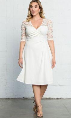 Plus Size Lace Dress {affiliate link}