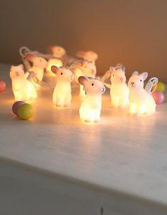 Rabbit Light Garland