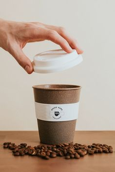 Cappuccino Coffee, Coffee Shop, Coffee Cups, Reusable Coffee Cup, Cafe Tables, Coffee Is Life, Cookies Policy, Barista, Mockup