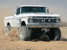 Love the old Ford trucks