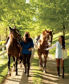 Brianne Goutal and Georgina Bloomberg for Hamptons Magazine.