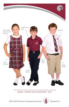school uniforms pro con school uniform  2014 2015 uniform guidelines grades k 5