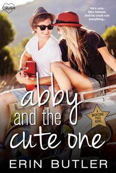 Erin Butler - Abby and the Cute One Ya Books, Good Books, Butler, Teen Romance, Book Boyfriends, Book Girl, Romance Novels, The Book, Book Lovers
