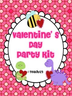 Valentine's Day Party Kit $