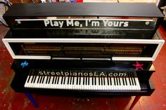 pianos decorated by local artists, ready for everyone to play. only around for three weeks so start playing!