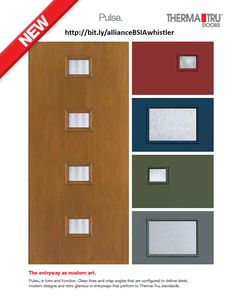 1000 images about other doors on pinterest decorative for Therma tru pulse