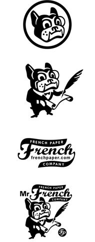 charles s. anderson design co. | Mr. French Logo