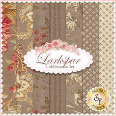 Larkspur 3 SISTERS BIRDS YELLOW FABRIC FQ Moda STRAW