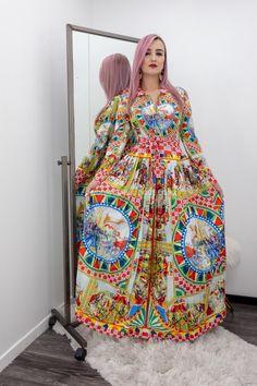 Print Long Sleeve Print Maxi Dress-Maxi Dress-Moda Fina Boutique Mini Club Dresses, Satin Lingerie, Vera Bradley Backpack, Rompers, Boutique, Long Sleeve, Sexy, Model, How To Wear