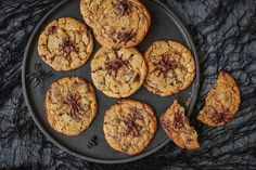 If you or your children love chocolate chip cookies, try serving up these delicious Halloween versions – each topped with a spooky chocolate spider that's really easy to create. Our recipe uses dairy-free chocolate and dairy-free margarine, making them perfect for anyone in your family with a dairy allergy or intolerance. Makes: 12 cookies • …